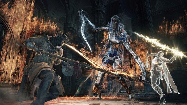Dreispitz und Maske - eine Figur wie aus Bloodborne.