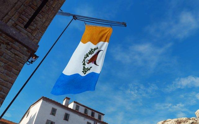 Hisst die Flagge der Rebellen und die Siedlung gehört euch.