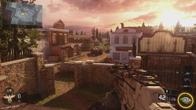 """Alter Aufbau, neue Optik: """"Outlaw"""" basiert auf """"Standoff"""" aus Black Ops 2."""