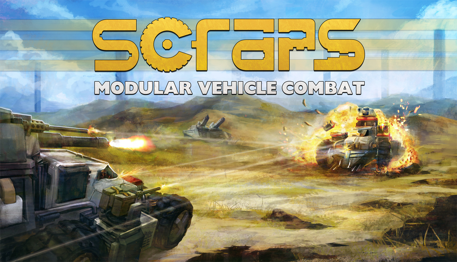 Scraps - Modular Vehicle Combat