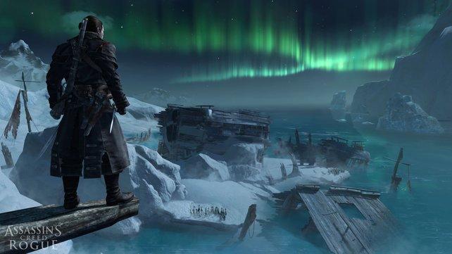 Abenteuer unter dem Nordlicht. Assassin's Creed - Rogue entführt euch in eisige Regionen.