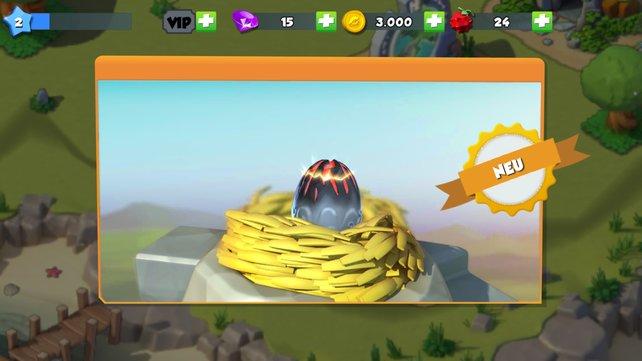 So könnt ihr in Dragon Mania Drachen züchten und in der Arena in den Kampf schicken.
