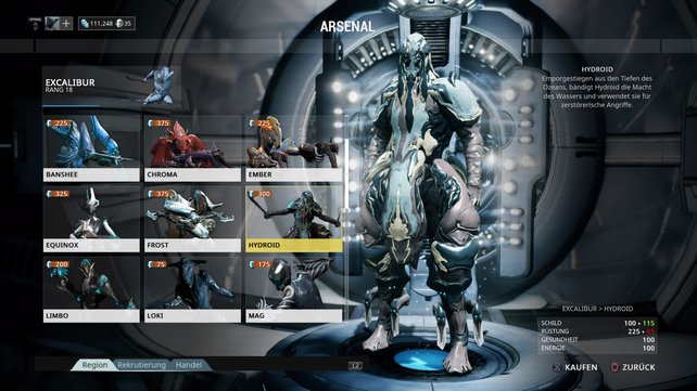 Warframe: Hydroid