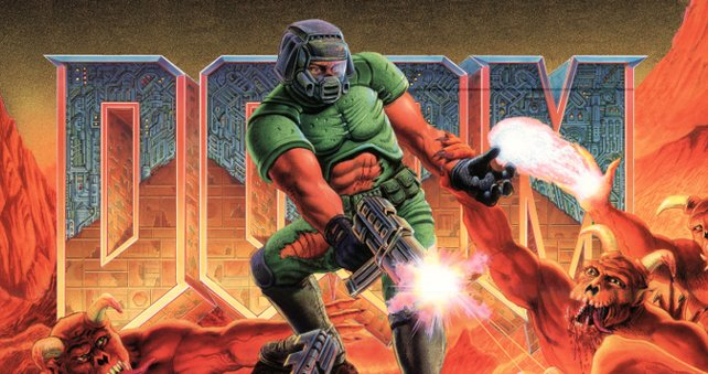 Eigene Karten waren zur Veröffentlichung von Doom noch Wunschdenken.