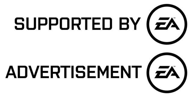 Mit diesen Wasserzeichen müssen zukünftig Partnerinhalte von EA gekennzeichnet werden.