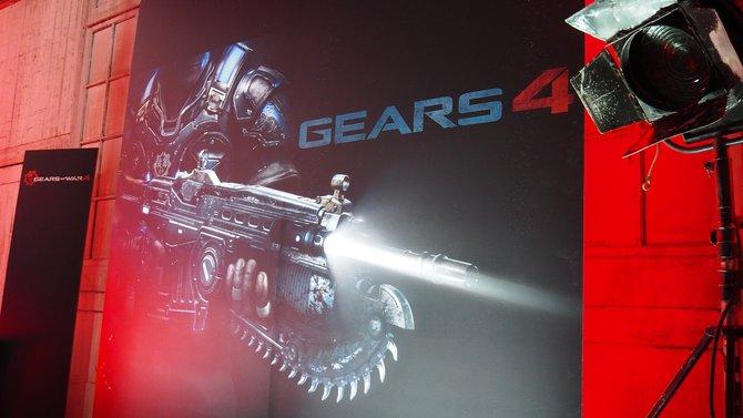 Die Lancer mit ihrer integrierten Kettensäge bleibt auch in Gears of War 4 eine absolute Kultwaffe.