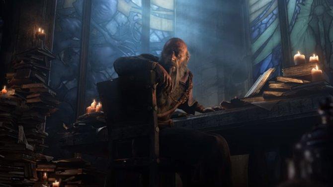 Deckard Cain studiert sein Leben lang, um mit seinem Wissen einen Vorteil im Kampf gegen das Böse zu erringen.