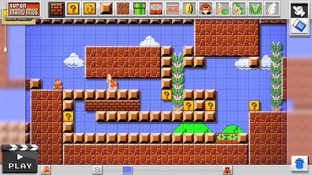 Über das Pad der Wii U zieht ihr einfach Objekte an die gewünschte Stelle.