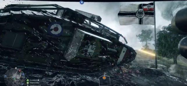 Für Battlefield 1 gibt es vier neue Panzer-Typen.