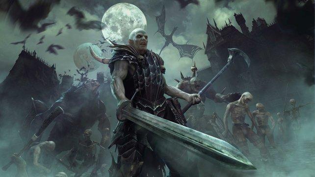 Vor allem die Vampire haben mächtig Biss und glänzen durch finstere arkane Künste.