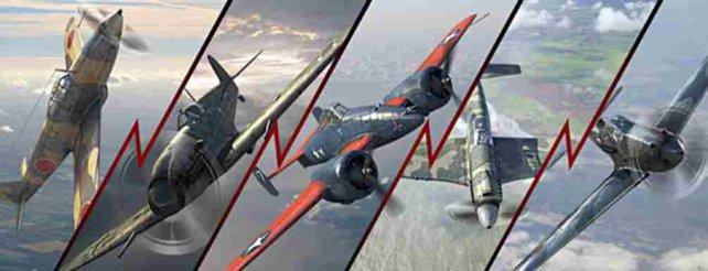 Nach der Aktualisierung sind fünf neue Premium-Flugzeuge, also jeweils eines pro Nation, verfügbar.