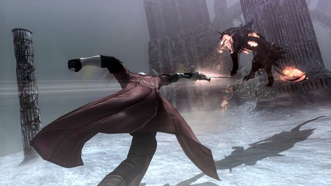 In der Devil May Cry - Special Edition gibt es wie gewohnt jede Menge Action.