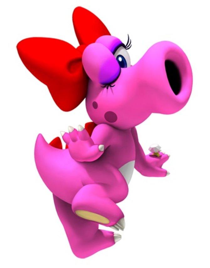 """Heute ist bei """"Wer ist eigentlich?"""" die rosane Birdo an der Reihe."""