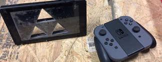Panorama: Nintendo Switch: Youtuber verkaufen Konsole mit Triforce-Schnitt