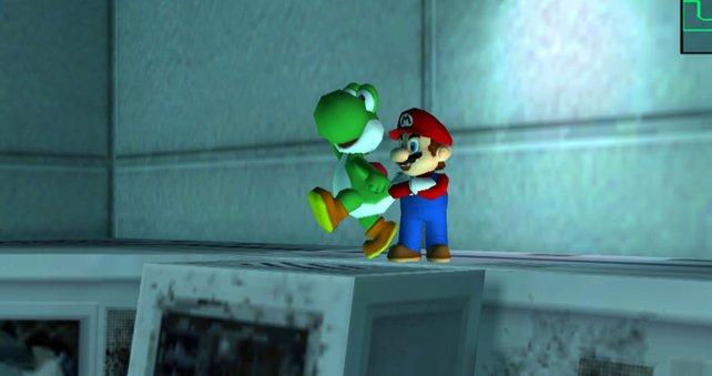 Zwei legendäre Helden in einem legendären Spiel.