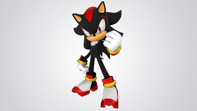 Sonics finsterer Rivale Shadow teilt viele Fähigkeit des blauen Igels.