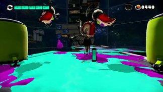 Splatoon - Tintenfisch gegen Krake