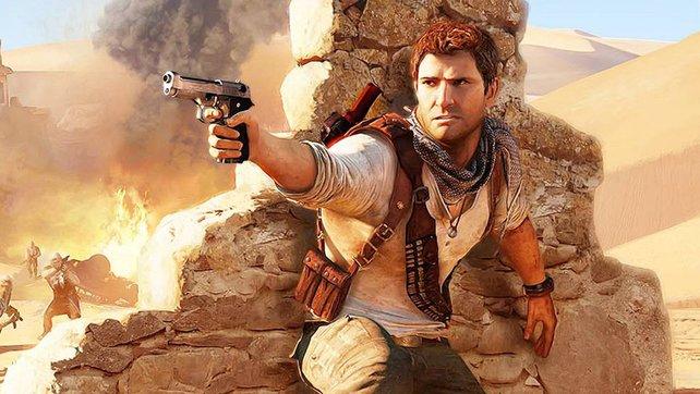 Nathan Drake in Uncharted 3. Vielleicht auch bald auf der PS4?