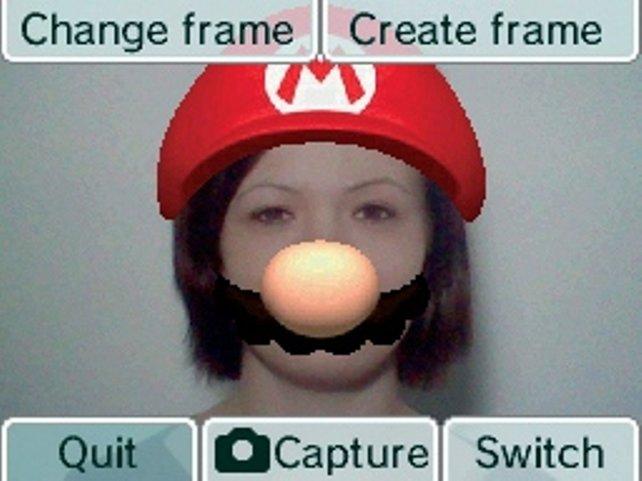 Ähnlich wie die uralte Gameboy-Kamera versorgt euch auch der DSi mit mehr oder weniger guten Bilder-Gags.