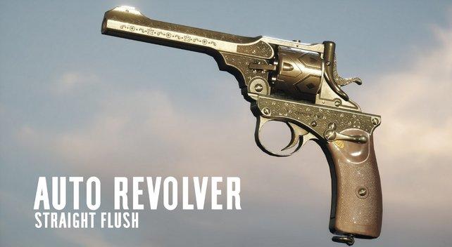 Straight Flush: Diesen Waffen-Skin erhaltet ihr für den Auto Revolver.