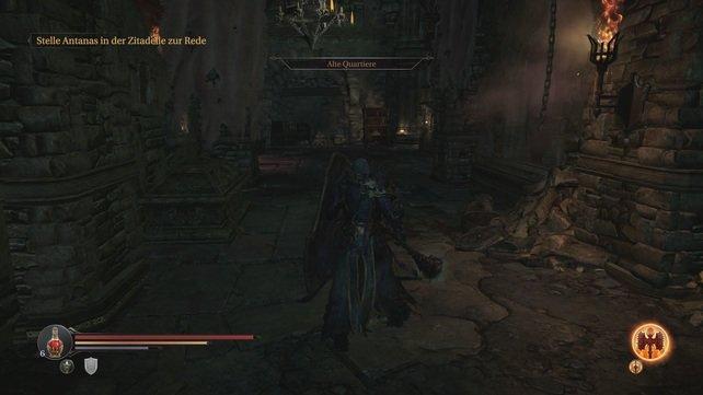 Die Wachen der Alten Quartiere wollen euch aufhalten - macht euch auf einen harten Kampf gefasst!