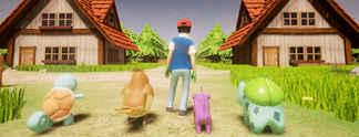 Pok�mon in Unreal Engine 4 als spielbare Version