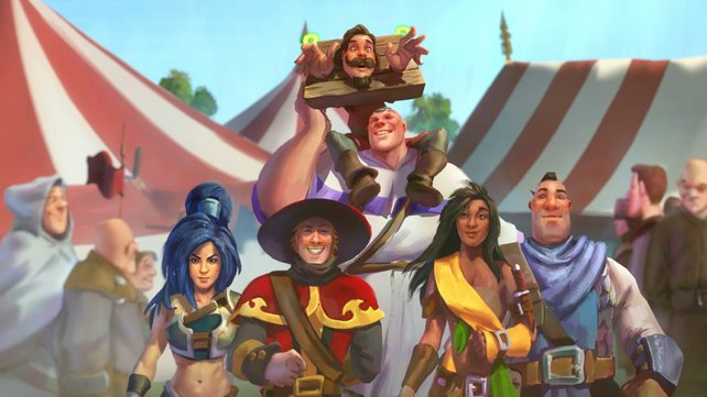 Diese fünf Helden und der trottelige Barde Bryan sollen Anteria retten.