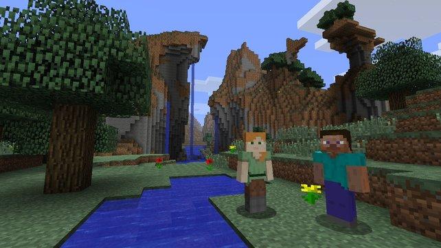 Die kultigen Blockwelten könnt ihr ab sofort auch auf Wii U besuchen.