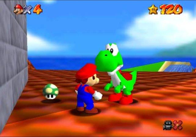 Alle, die in Super Mario 64, des Klempners größter Stunde, auf seinen besten Freund gewartet haben, die hat Nintendo abgespeist mit dieser einen läppischen Dachszene ganz am Ende.