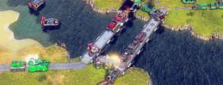 In Battle World - Kronos geht mit der Gratis-Erweiterung Trains der Zug ab