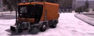 Kehrmaschinen-Simulator 2011: Dreck gehört auf die Müllhalde