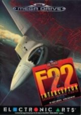 F-22 INTERCEPTOR (Mega CD)