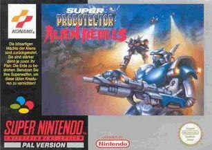Super Probotector - Alien Rebels