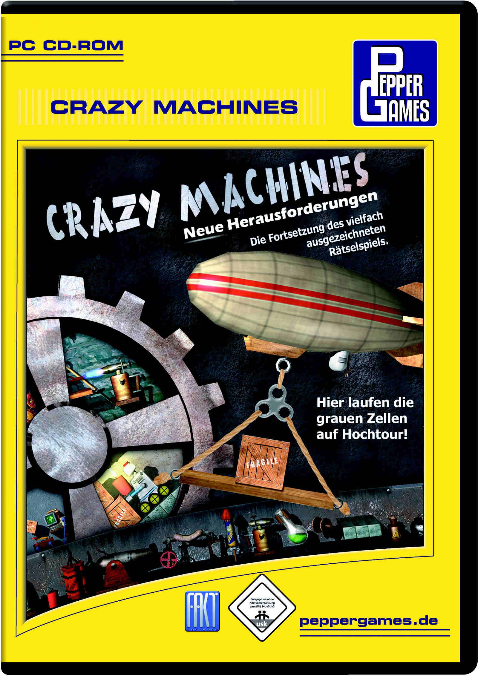Crazy Machines - Neue Herausforderungen
