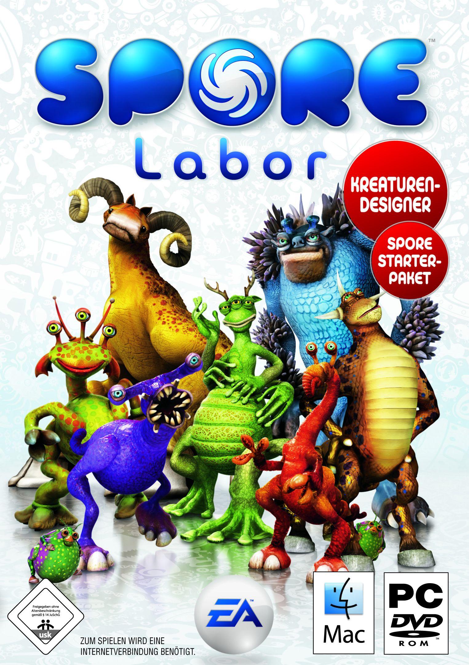 SPORE Labor - Kreaturen Designer