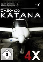 Flight Simulator X - Diamond DA20-100 Katana