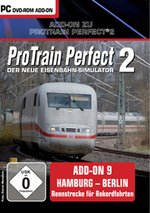 ProTrain Perfect 2 Add-On 9 - Hamburg-Berlin