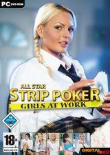Girls at Work - Strip Poker