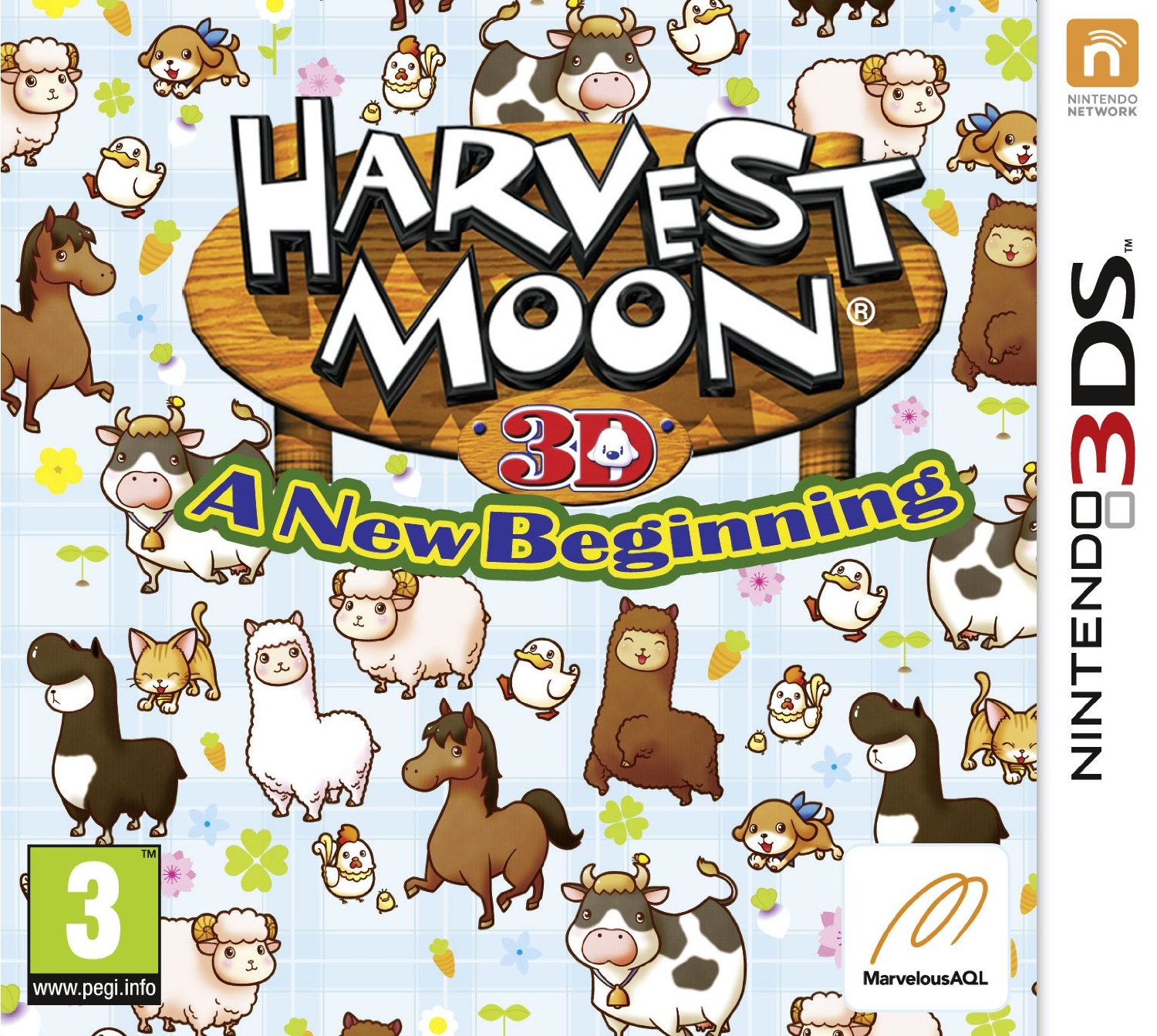 Harvest Moon - A New Beginning