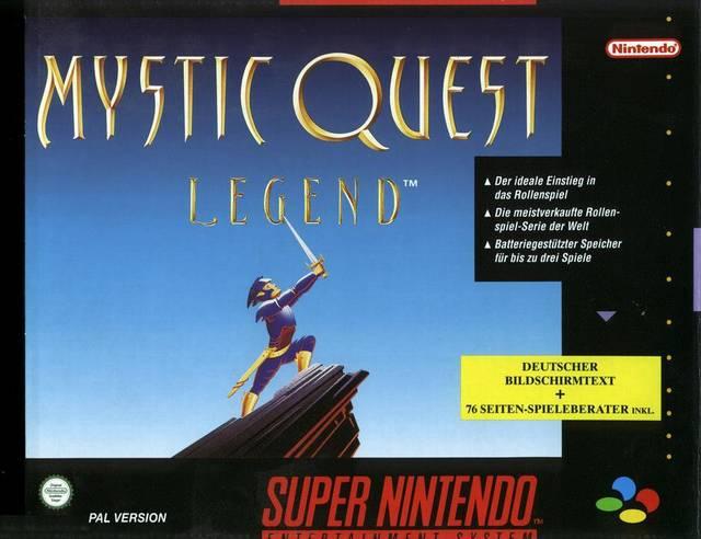 Mystic Quest Legend