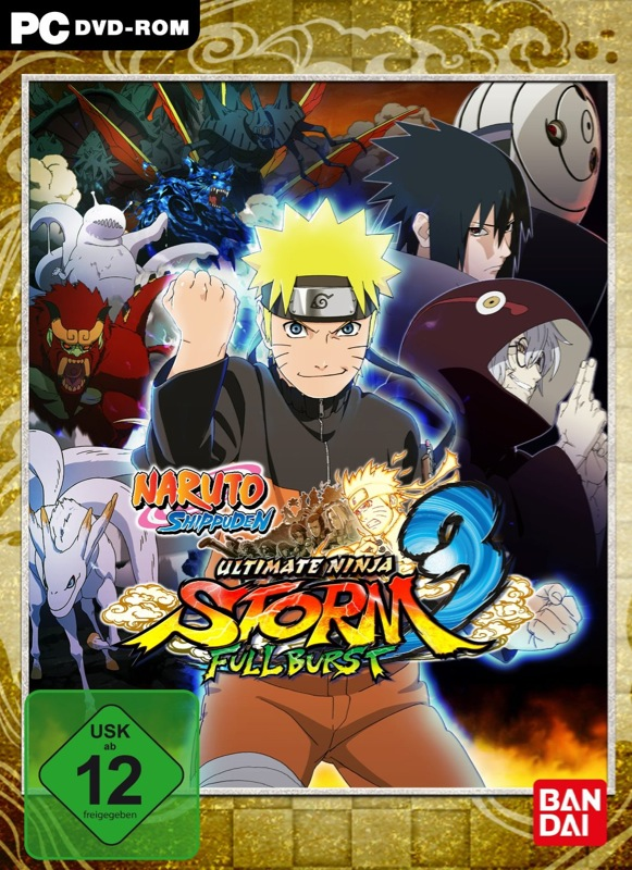 Naruto - Ultimate Ninja Storm 3 Full Burst