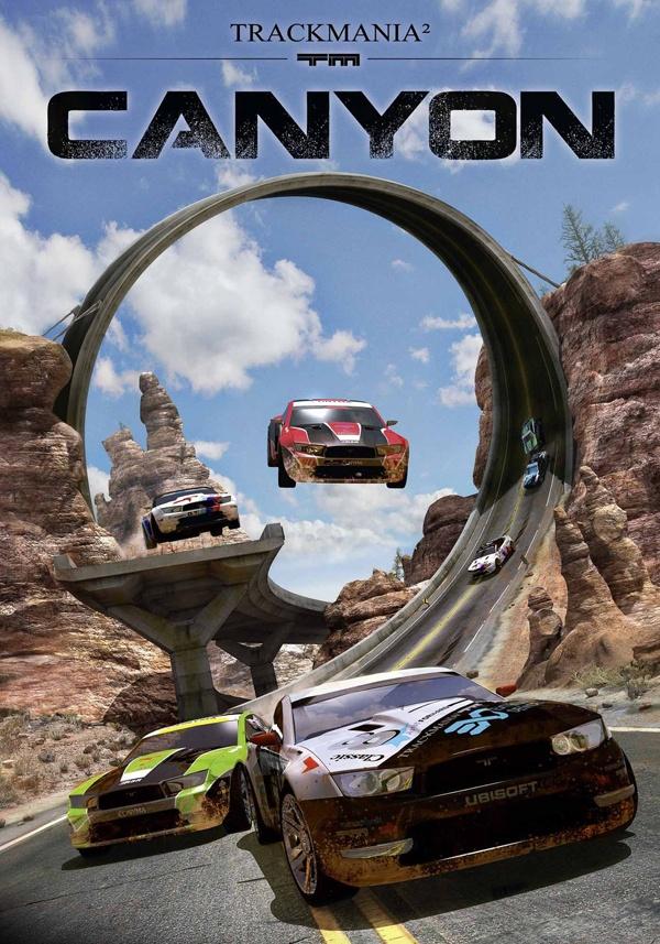 Trackmania 2 - Canyon