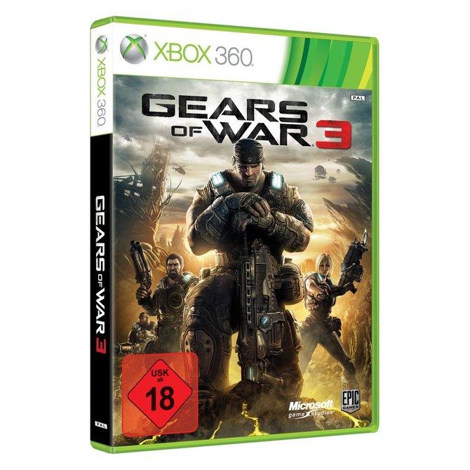 In Deutschland könnt ihr lediglich die Standard-Version von Gears of War 3 kaufen (links). Nur in ...