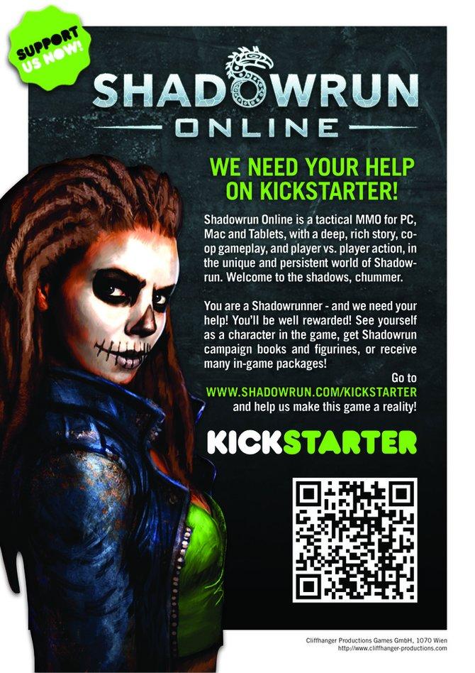 So wirbt Cliffhanger bei Kickstarter um Finanzhilfe.