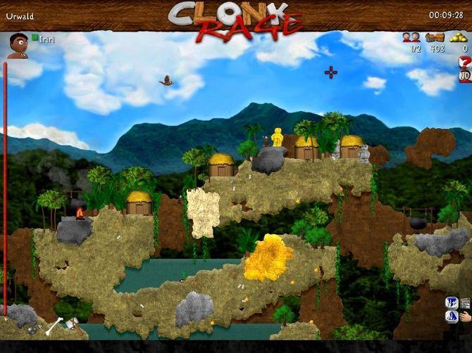 Clonk rage (2008) pc скачать через торрент. . Tron evolution трон Скач