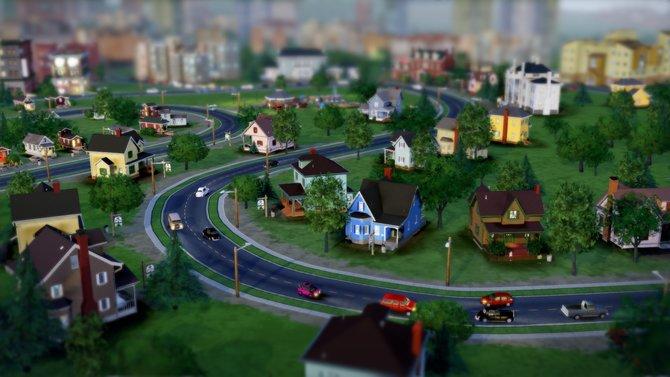 Ah, Sim City! Erstmals auch mit kurvigen Straßen.