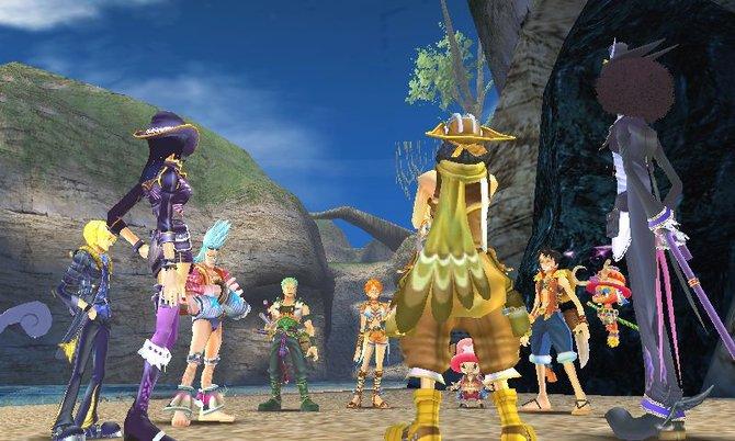 Die Strohhut-Bande kommt auf einer neuen Insel an. Welche Schätze es hier wohl zu entdecken gibt?