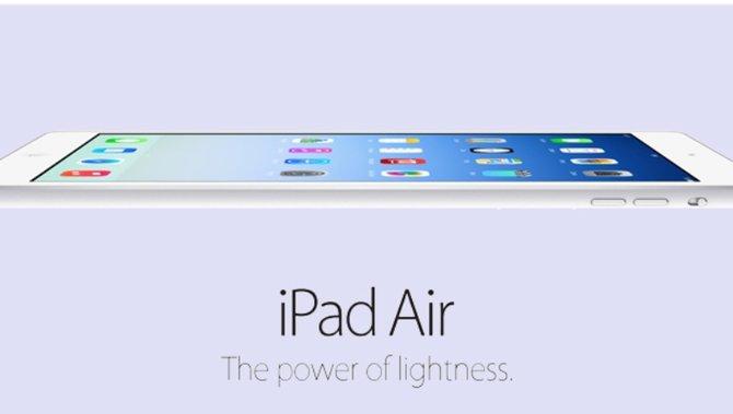 Dünner, leichter und leistungsstärker ist das neue iPad Air.