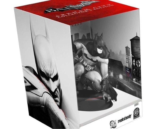 Ganz in Schwaz-Weiß kommt die Sammler-Edition von Batman: Arkham ...