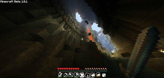 Von oben oder von unten: Minecraft ...